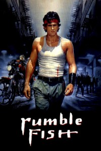 "Poster for the movie ""Rumble Fish"""