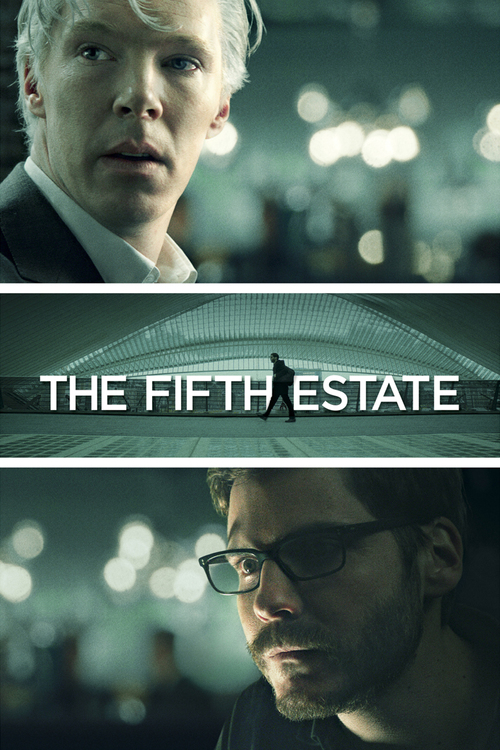 """Poster for the movie """"The Fifth Estate"""""""