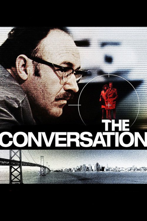 "Poster for the movie ""The Conversation"""