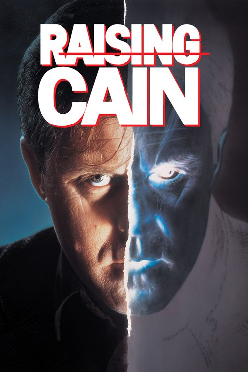 "Poster for the movie ""Raising Cain"""