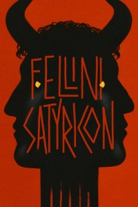 "Poster for the movie ""Fellini Satyricon"""