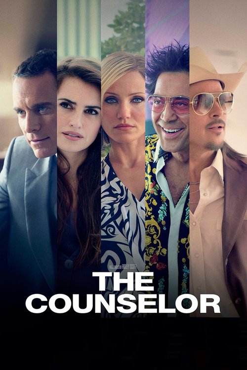 """Poster for the movie """"The Counselor"""""""