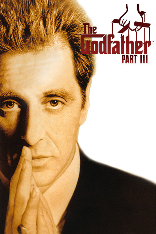 "Poster for the movie ""The Godfather: Part III"""