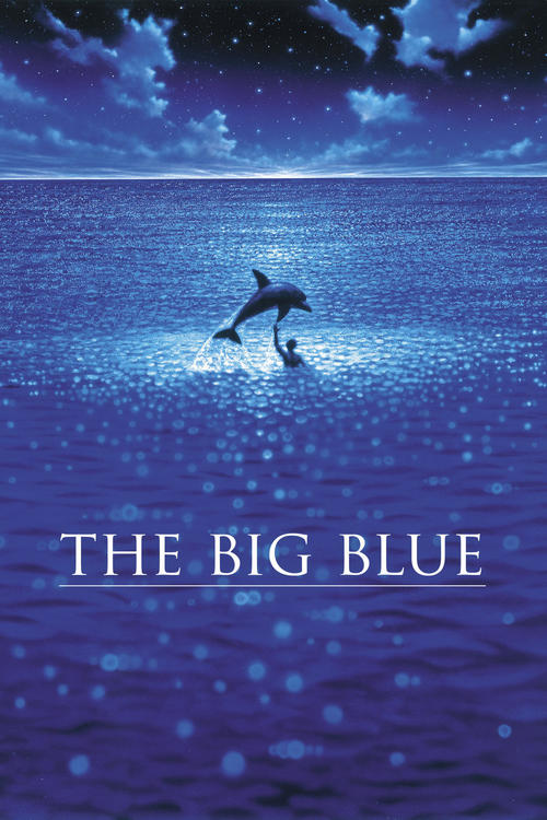 """Poster for the movie """"The Big Blue"""""""