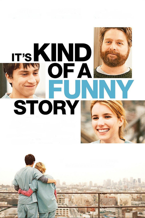 """Poster for the movie """"It's Kind of a Funny Story"""""""