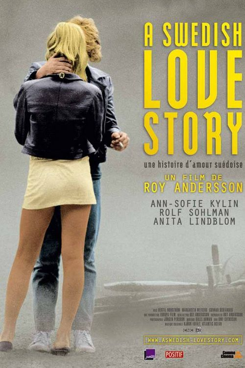 """Poster for the movie """"A Swedish Love Story"""""""