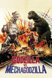 "Poster for the movie ""Godzilla vs. Mechagodzilla"""