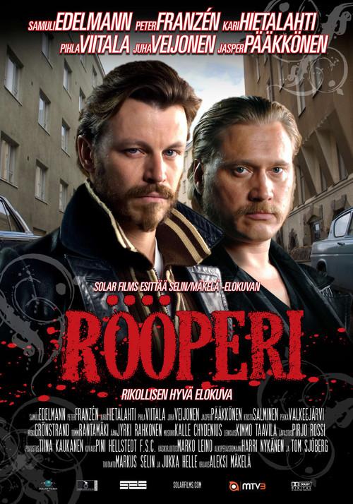 "Poster for the movie ""Rööperi"""