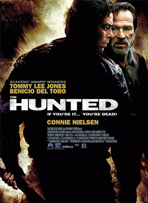 """Poster for the movie """"The Hunted"""""""