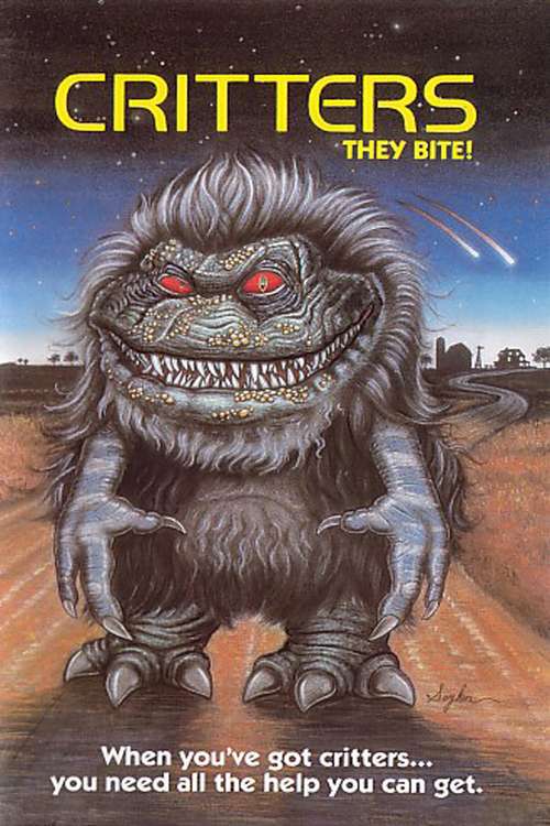 """Poster for the movie """"Critters"""""""