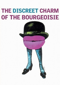 "Poster for the movie ""The Discreet Charm of the Bourgeoisie"""