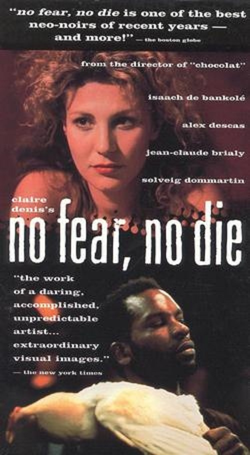 """Poster for the movie """"No Fear, No Die"""""""