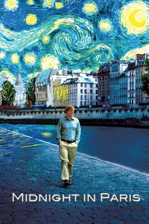 """Poster for the movie """"Midnight in Paris"""""""
