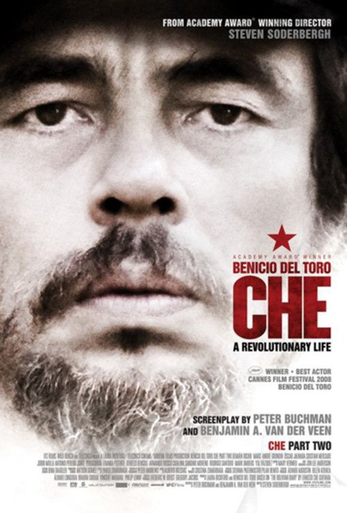"Poster for the movie ""Che: Part Two"""