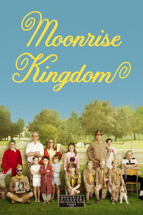 """Poster for the movie """"Moonrise Kingdom"""""""