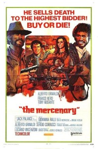"Poster for the movie ""The Mercenary"""