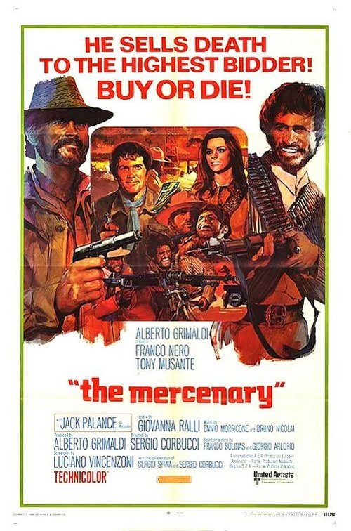 """Poster for the movie """"The Mercenary"""""""