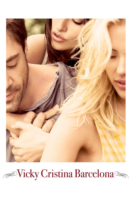 "Poster for the movie ""Vicky Cristina Barcelona"""