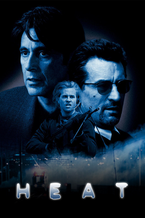 """Poster for the movie """"Heat"""""""