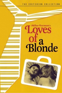 "Poster for the movie ""Loves of a Blonde"""