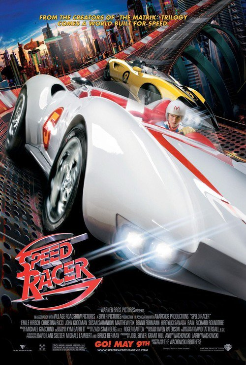 """Poster for the movie """"Speed Racer"""""""