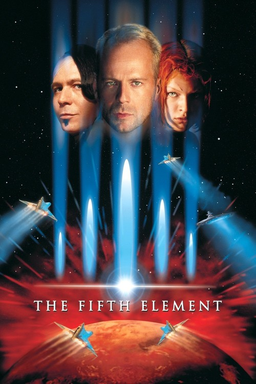 """Poster for the movie """"The Fifth Element"""""""