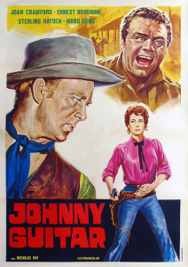 "Poster for the movie ""Johnny Guitar"""