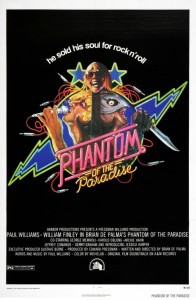 "Poster for the movie ""Phantom of the Paradise"""