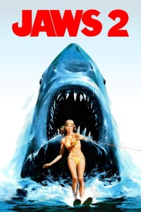 "Poster for the movie ""Jaws 2"""