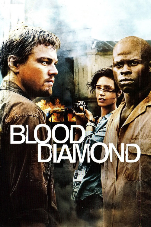 """Poster for the movie """"Blood Diamond"""""""