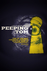 "Poster for the movie ""Peeping Tom"""