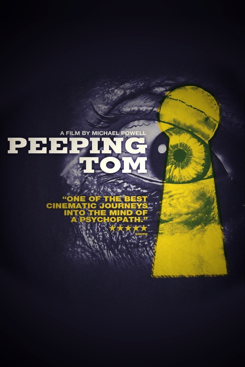 """Poster for the movie """"Peeping Tom"""""""