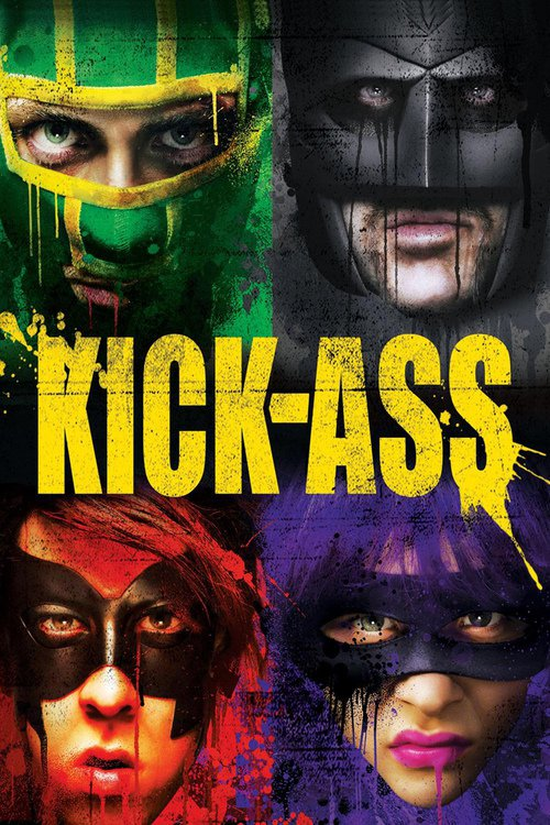 """Poster for the movie """"Kick-Ass"""""""