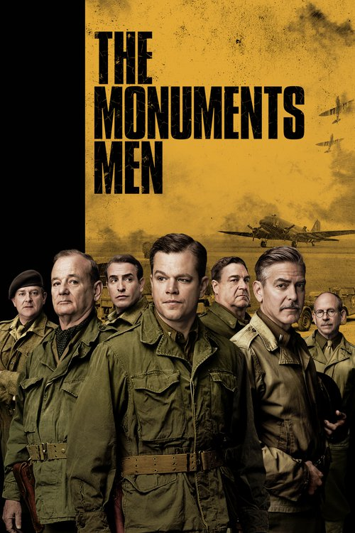 """Poster for the movie """"The Monuments Men"""""""