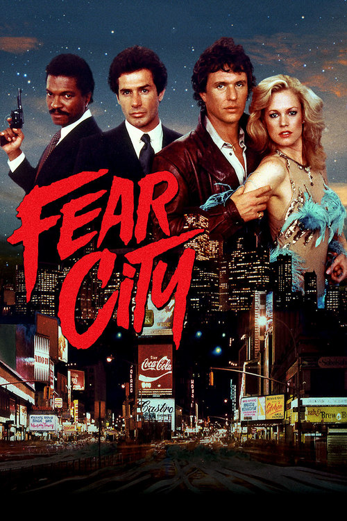 """Poster for the movie """"Fear City"""""""
