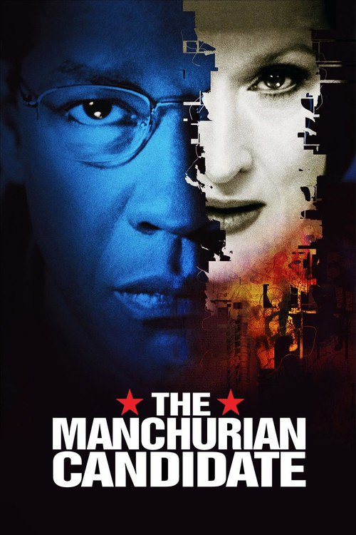 "Poster for the movie ""The Manchurian Candidate"""