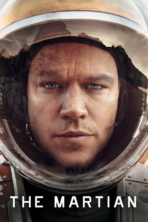 "Poster for the movie ""The Martian"""