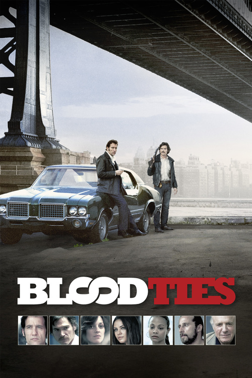 "Poster for the movie ""Blood Ties"""