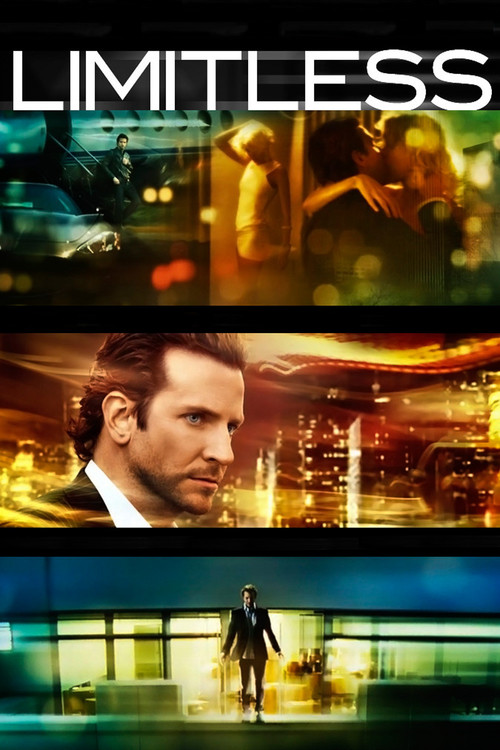 """Poster for the movie """"Limitless"""""""