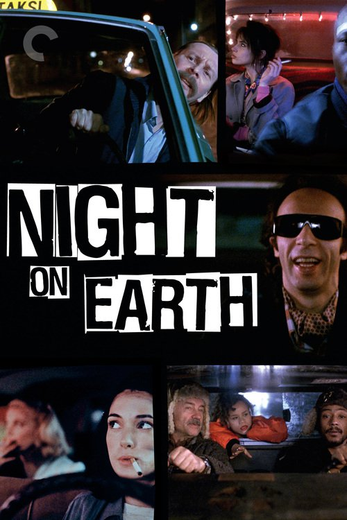 """Poster for the movie """"Night on Earth"""""""