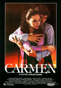 "Poster for the movie ""Carmen"""