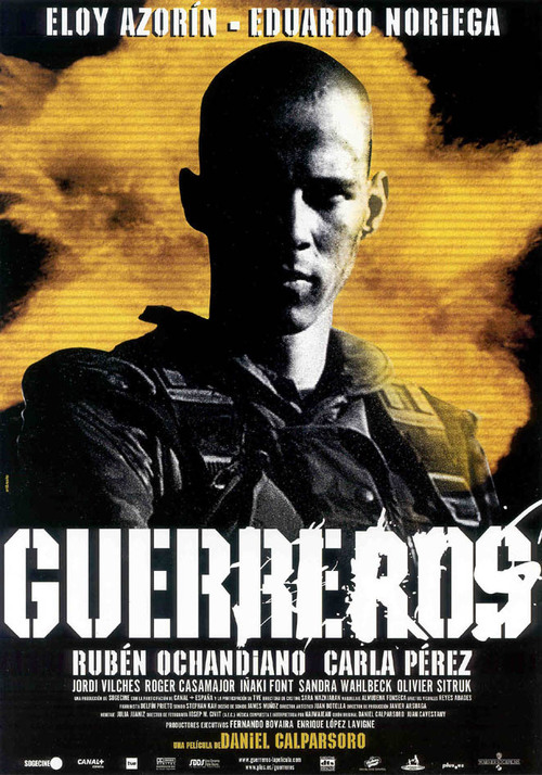 """Poster for the movie """"Guerreros"""""""