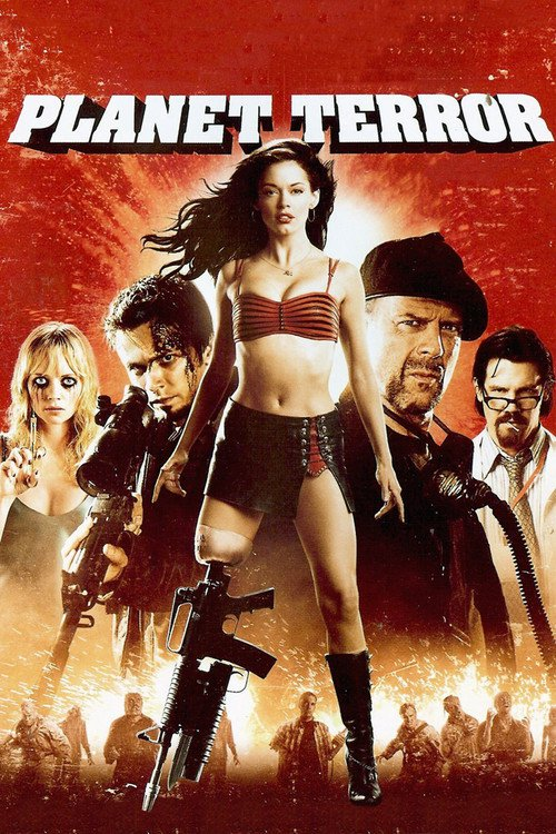 "Poster for the movie ""Planet Terror"""