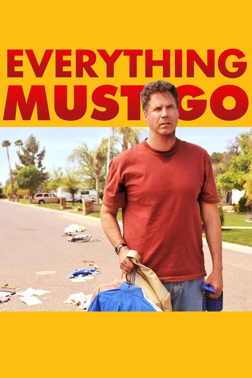 """Poster for the movie """"Everything Must Go"""""""