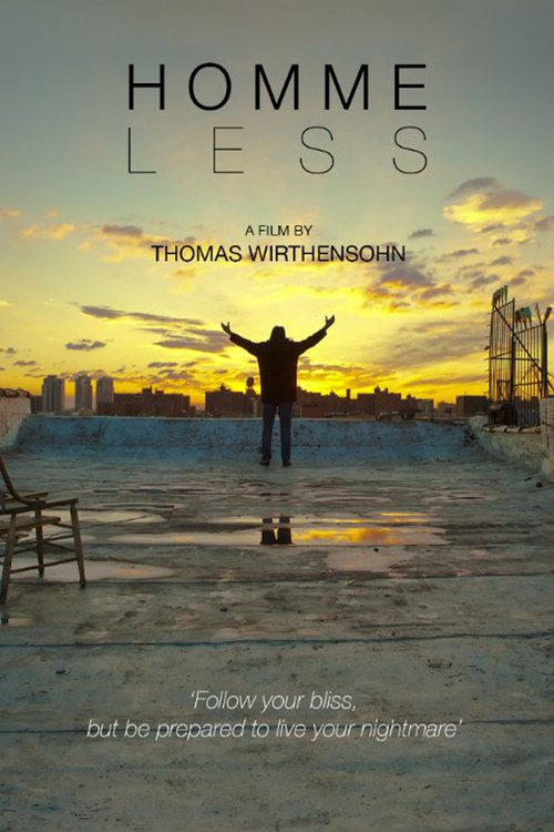 """Poster for the movie """"Homme Less"""""""