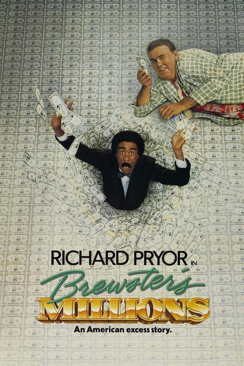 "Poster for the movie ""Brewster's Millions"""