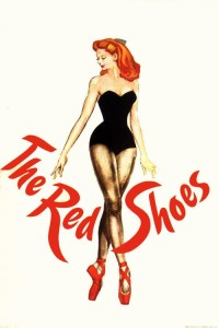 "Poster for the movie ""The Red Shoes"""