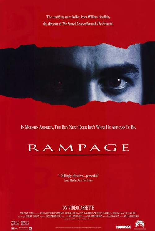 """Poster for the movie """"Rampage"""""""