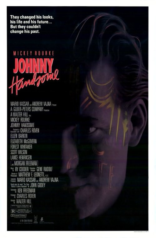 """Poster for the movie """"Johnny Handsome"""""""
