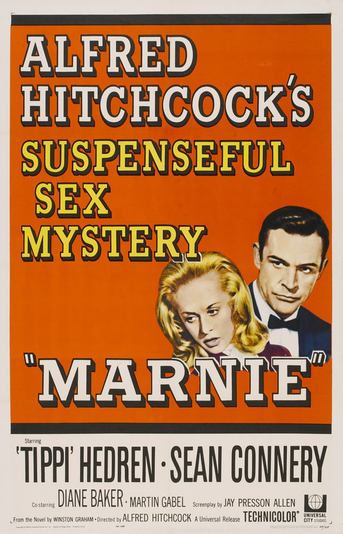"""Poster for the movie """"Marnie"""""""